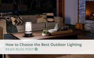 blog post - how to choose the best outdoor lighting